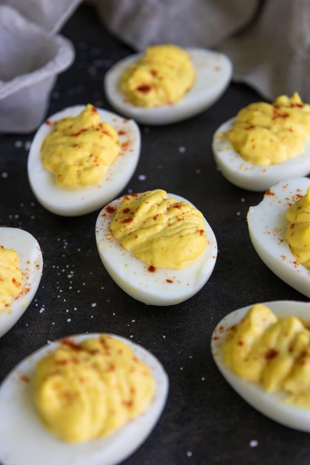 Classic Deviled Eggs With How To Video Mom S Dinner