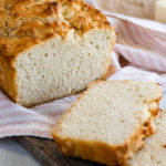 Easy Beer Bread Recipe Pinterest Image