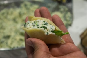Stuffed Pasta Shell