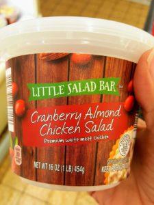 Aldi cranberry almond chicken salad momsdinner.net