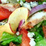 apple pecan chicken salad momsdinner.net