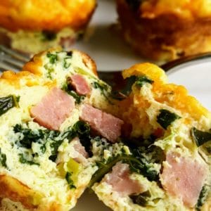Ham and Kale Egg Cups momsdinner.net