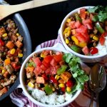 Southwest Sweet Potato & Turkey Bowl