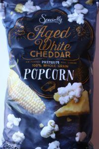 Aged Cheddar Popcorn from Aldi