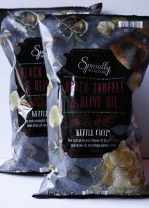 Black truffle Kettle Chips from Aldi