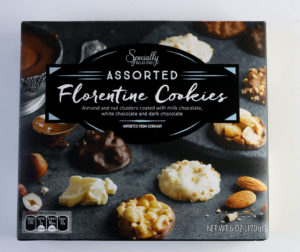 Florentine Cookie Tin for the holidays from aldi