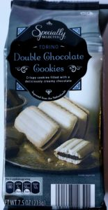 Double Chocolate Cookies - similar to a milano - from Aldi