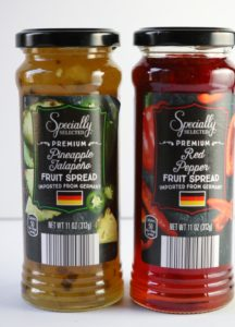 pepper jellies in jars from aldi