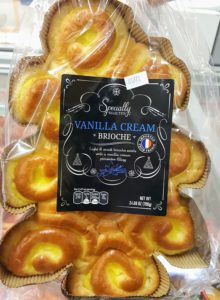 Vanilla Cream Brioche Rolls from Aldi