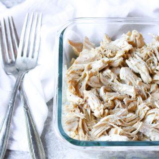 INSTANT POT All-Purpose Pulled Chicken momsdinner.net