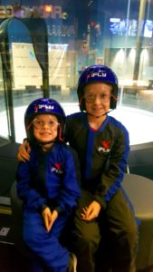 Maddie and Kyle at iFly