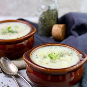 Cauliflower and Potato Chowder momsdinner.net