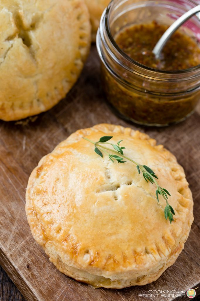 Ham and Brie Hand Pies
