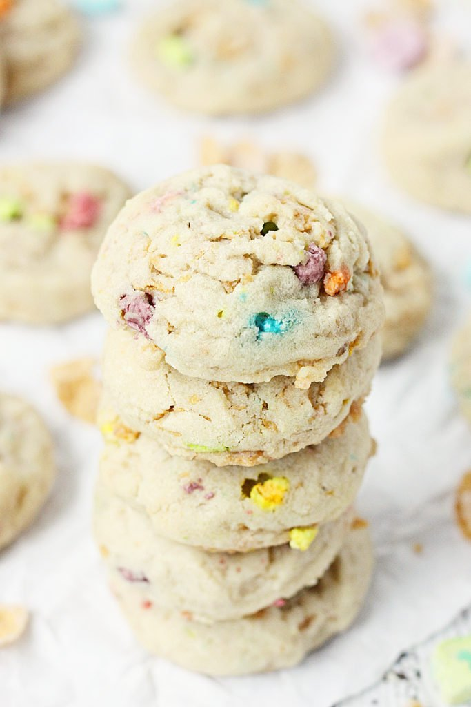 Lucky-Charms-Frosted-Flakes-Cookies