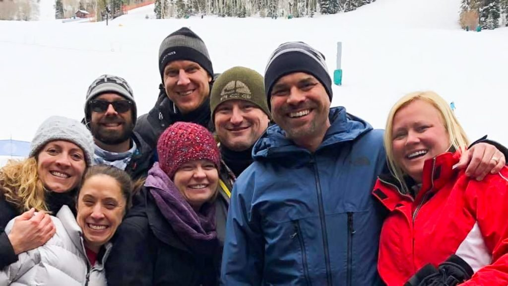 Group of Friends at Beaver Creek