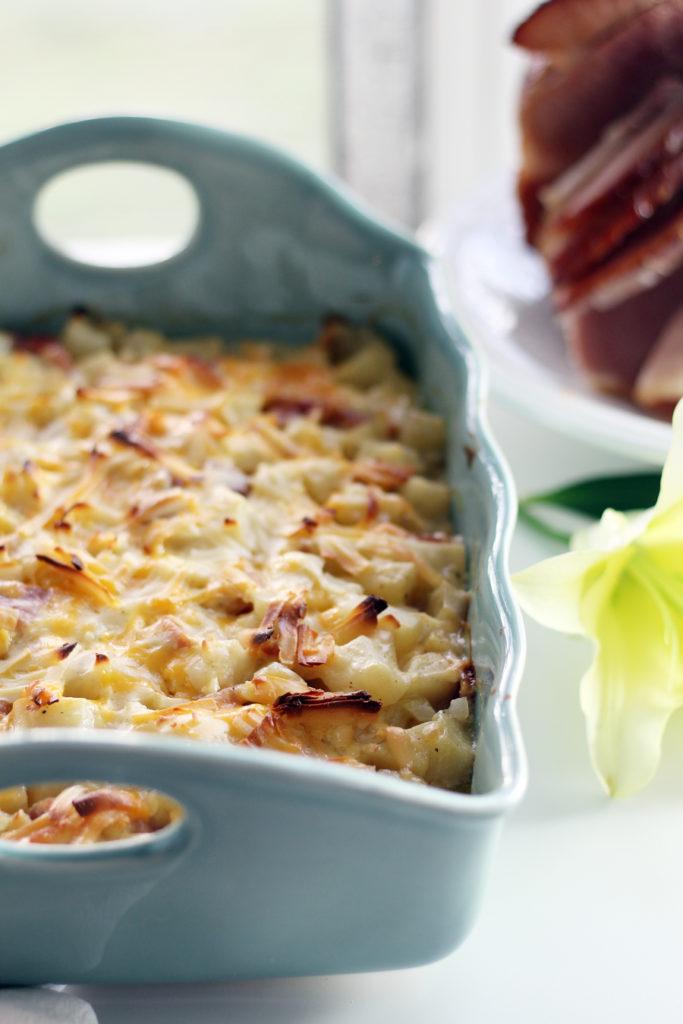 Smoked-Gouda-Cheddar-Potato-Ham-Casserole-7