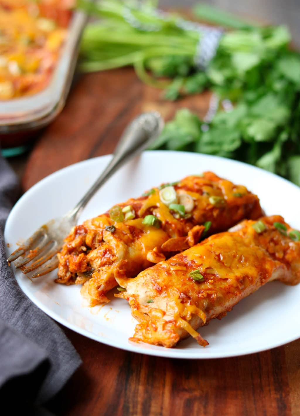 My Favorite Chicken Enchilada Recipe Mom S Dinner