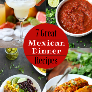 7 Great Mexican Dinner Recipe via momsdinner.net