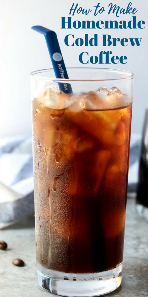 a close up of iced coffee