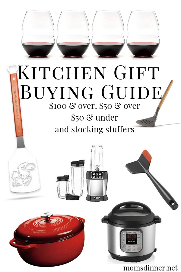 Kitchen Gift Buying Guide Pinterest Image