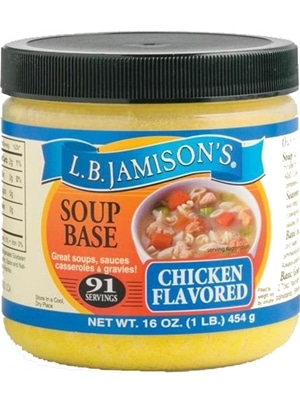 L.B. Jamison's Chicken Base