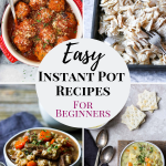 instant pot recipes for beginners