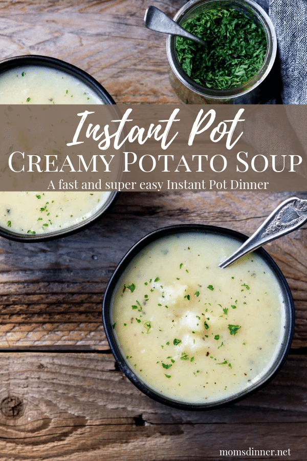 Instant Pot Potato Soup Pin Image