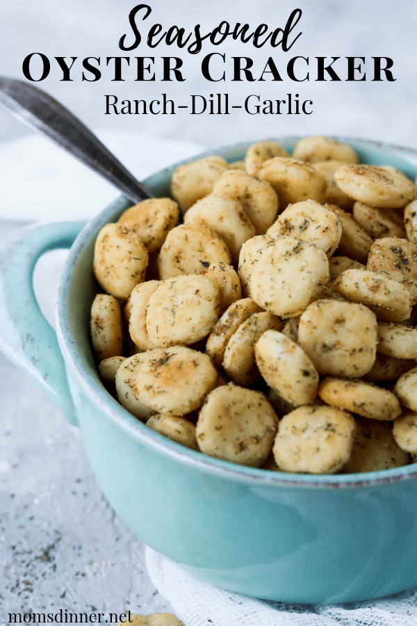 Seasoned Oyster Cracker Pinterest Image