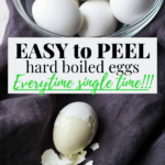 Easy to Peel hard boiled egg pin image
