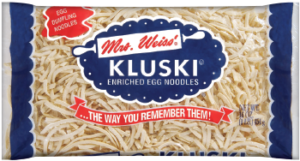 Kluski Noodles, perfect for Chicken Noodle Soup for Kids
