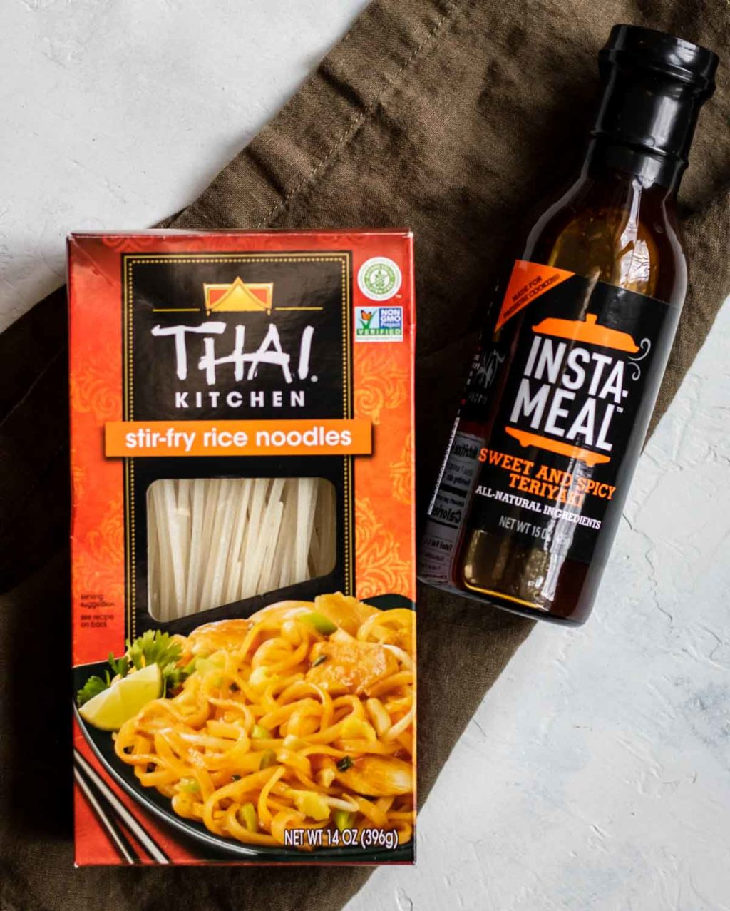 Thai Kitchen Rice Noodles and Instant Pot Insta-Meal sauce