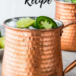 Mexican Mule Recipe pinterest Image
