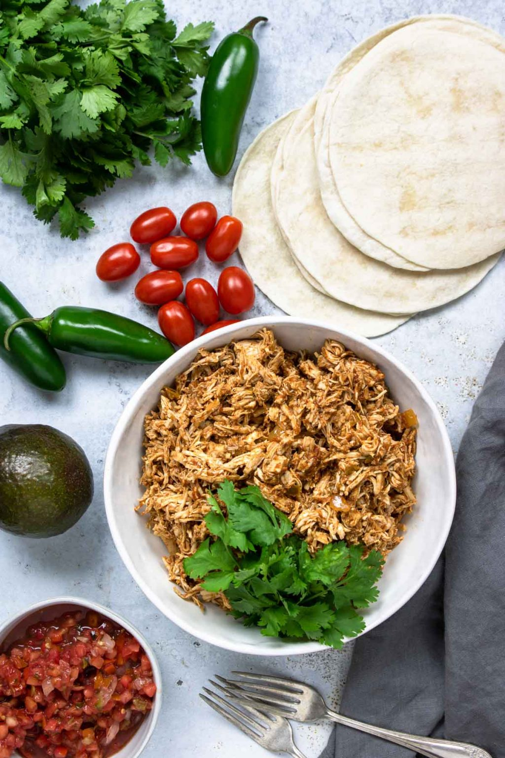 Instant Pot Shredded Chicken Tacos Mom S Dinner