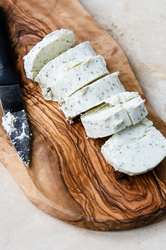 Goat Cheese cut into rounds