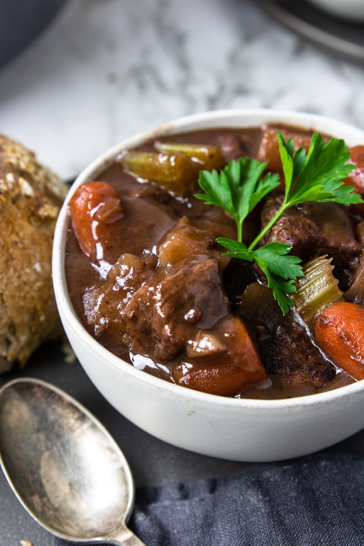 Beef Stew W Red Wine Stove Top Instant Pot Instructions Included