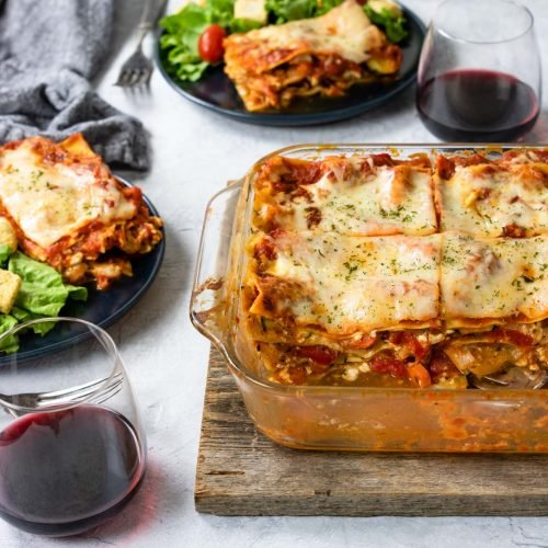 The Ultimate Veggie Lasagna