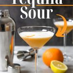 Tequila Sour Pinterest image with text