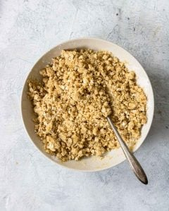 crumble topping for apple pie