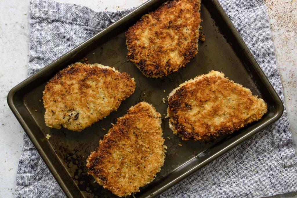crispy fried pork cutlets