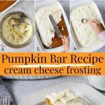 pumpkin bar pin image with text