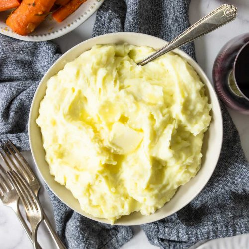 The BEST Yukon Gold Mashed Potatoes
